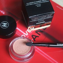 Illusion D'Ombre Velvet – new eyeshadows by Chanel.
