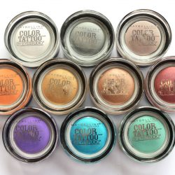 New eye shadows Maybelline Color Tattoo