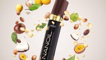 Nanoil hair oil for dry and damaged hair